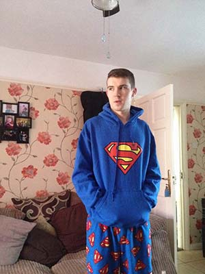 Frédéric 23 ans pédale à Gravelines