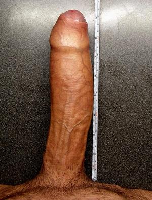 Vrai 24 cm de bite a mettre dans ton cul